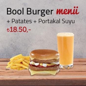 Bool Burger Menü