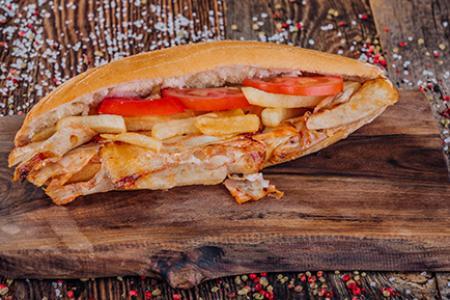Yarım Ekmek Arası Tavuk Döner (100 gr.)