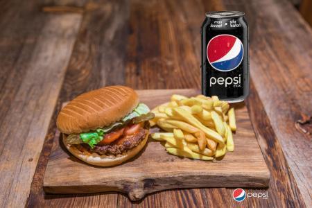 Büyük Burger Menü