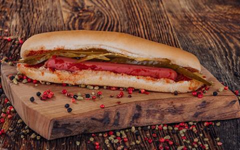 Sosisli Sandviç (Sıcak)