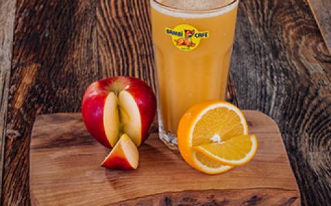 Taze Sıkılmış Portakal & Elma Suyu