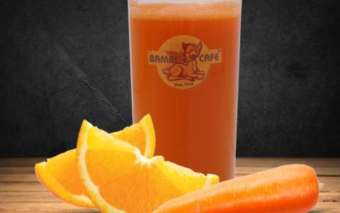 Taze Sıkılmış Portakal & Havuç Suyu